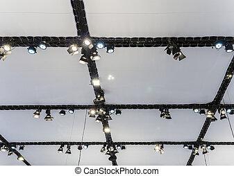 Modern lighting system.