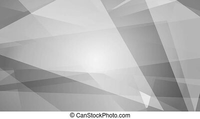 Grey abstract tech geometric video animation - Grey abstract...
