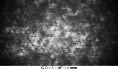 Black grunge triangles video animation - Black grunge...