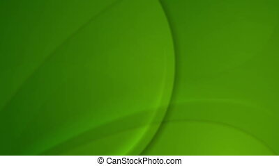 Green abstract waves video animation - Green abstract waves...