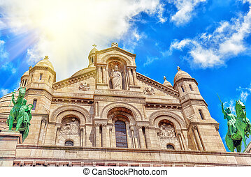 Sacred Heart (also known a Basilique du Sacre Coeur) is one...