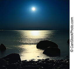 In The Nights Soul - A romantic moon rise at Assos, Turkey
