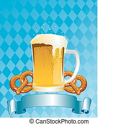 Oktoberfest Celebration Background