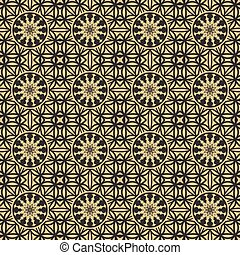 Seamless gold pattern.