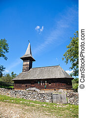 Grosii Noi Wooden Church - The Wooden Church in Grosii Noi...