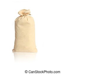 Sack isolated on white