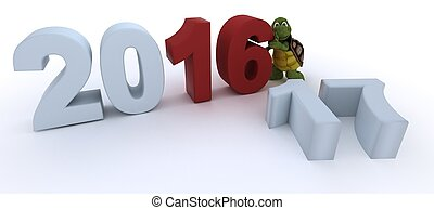 tortoise new year 2017