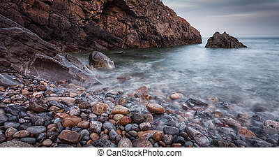 Brandy Cove Gower Swansea - Brandy Cove on the South side of...