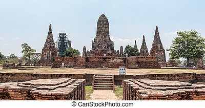 Ayutthaya - the Ayutthaya Temple in Thailand