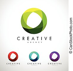 Circle, Circular Corporate Logo.Abstract Corporate Logo...
