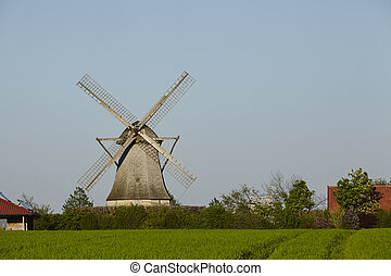 Windmill Destel (Stemwede, Germany) - The windmill Destel...