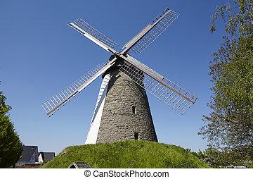 Windmill Duetzen (Minden, Germany) - The windmill Duetzen...