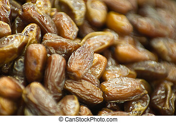 Date fruit closeup background.