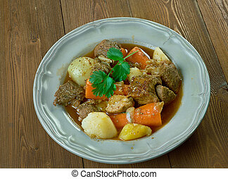French pot roast - Boeuf a la mode - French version of what...
