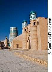 Typical buildings in Khiva - Photo of large building made of...