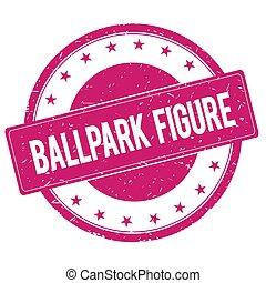 切手, ピンク, マゼンタ,  ballpark-figure, 印