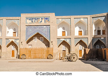 Flats in Khiva - Photo of large building with flats and...