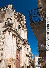 Church of St. Benedetto. Acquaviva delle fonti. Puglia....