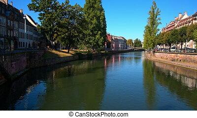 Strasbourg, river, petite France.