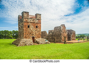 Jesuit missions in Paraguay - Photo of old Jesuit Missions...