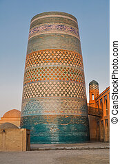 Circular architecture in Khiva - Photo or typical...