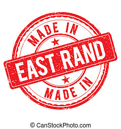 Made in EAST RAND stamp