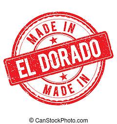 Made in EL DORADO stamp