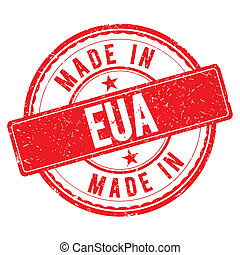 Made in EUA stamp