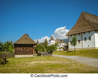 Old Slovak culture - Photo of traditional old Slovak...