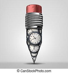 Time Plan Symbol