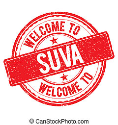 Welcome to SUVA Stamp. - SUVA. Welcome to stamp sign...