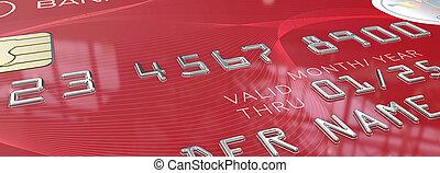 Macro Red Credit Card.