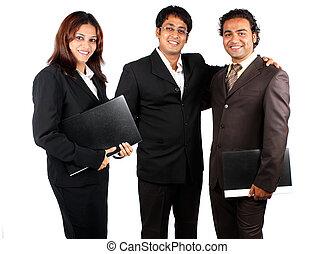 Smart Indian Business Team - A smart Indian business team...