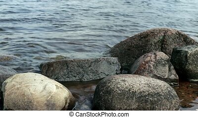 Large round smooth stones boulders - smooth stones boulders...