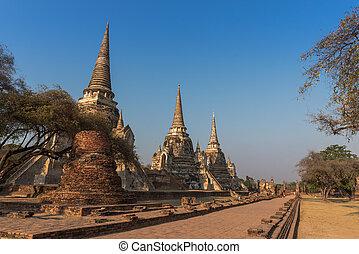 Ayutthaya - the Ayutthaya Temple in Thailand