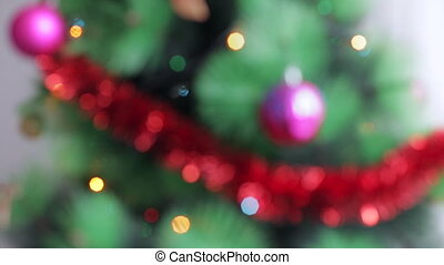 Blurred Christmas background