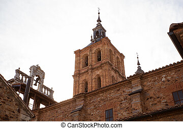 Belltower of the Astorga cathedral - View of the Belltower...