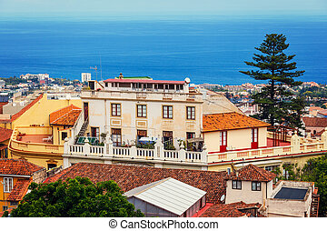 the historical center of La Orotava town, Tenerife Island,...