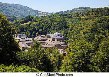 The monastery of St Julian of Samos - View of the monastery...