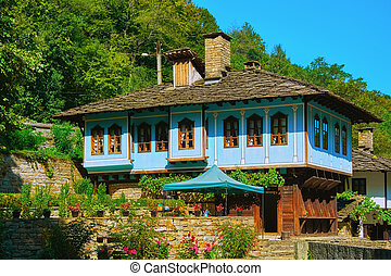 Two-storey House on a Hill Slope in Gabrovo Region,...