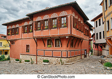 House in Old Plovdiv, Bulgaria - House on One of the Streets...