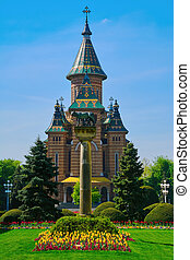 Timisoara Orthodox Cathedral is the Seat of the Archbishop...