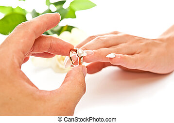 Ring and hands