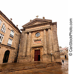 The church of Las Animas- the Souls - View of the church of...
