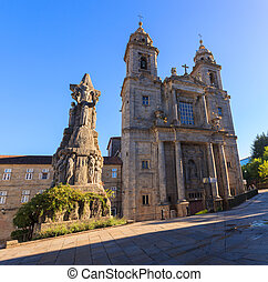 Belltowers of the Monastery of St. Francis, Santiago -...