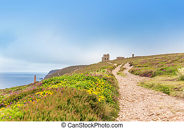 St Agnes and Chapel Porth Atlantic ocean, Cornwall - Popular...