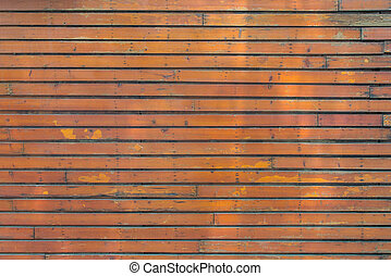 old Wooden planks wall texture abstract for background.