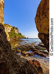 Suluban beach in Bali - Indonesia