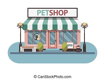 Veterinary medicine hospital, clinic or pet shop for...