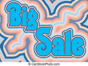 Abstract vector element for design to sale promotion.